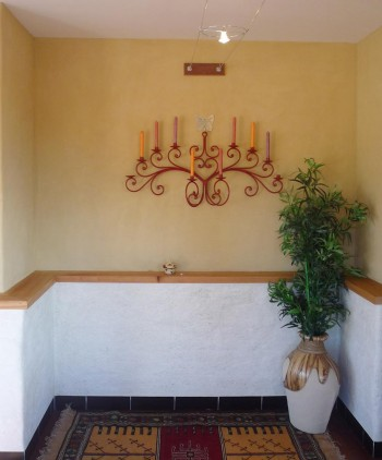 half height adobe feature wall, half-height-adobe-feature-wall.jpg